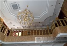 China Yellow Granite Balustrade & Railings
