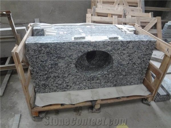 Granite Bathroom Vanity Tops spray white granite countertops vanity tops, china white granite