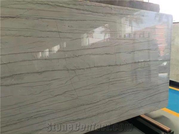 Macaubas Fantasy Quartzite Slabs Tiles Brazil White