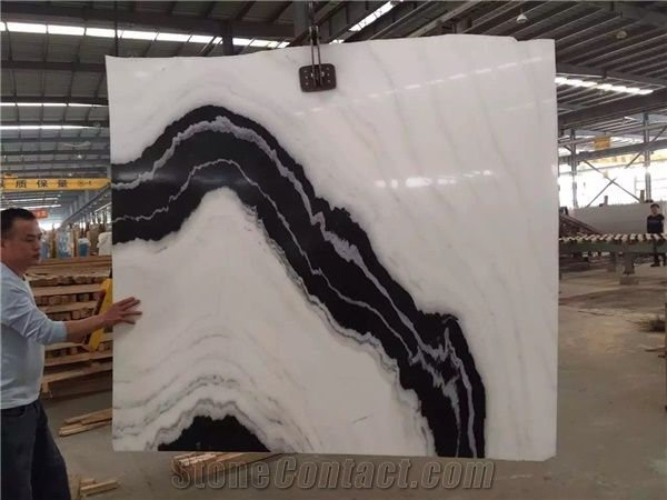 Panda White Marble Slabs Panda White Marble Wall Tiles
