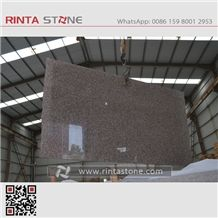 G664 Cherry Brown Luoyuan Red Granite Royal Pink Granite Pink Porno Granite Bainbrook Brown Granite Slabs
