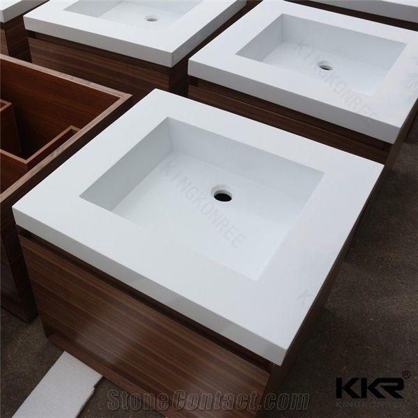 Toto Hot Design Corian Solid Surface Bathroom Cabinet Wash Basin ...