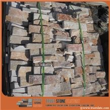 Rust Quartzite Landscape Supply, Brown Quartzite Rock Landscaping Ideas, Beige Quartzite Rock Landscaping
