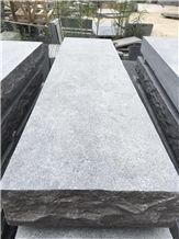 Chateau Limestone Rockfaced Tread, China Bluestone Rockfaced Tread