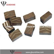 Diamond Segments and Diamond Saw Multi-Blades Used for Granite Block Cutting