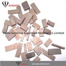 Diamond Segments for Marble Block Cutting