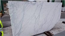 Statuario Carrara Marble Block, Italy White Marble