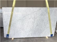 White / Bianco Carrara Cd Marble, Italy White Marble Slabs