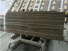 Canada Wooden Marble Slabs, Canada Brown Marble