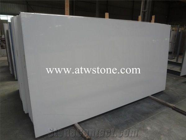 Pure White Quartz Stone Slabs