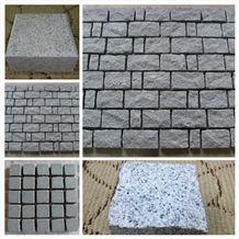 Chinese Granite G654 Dark Grey Cube Stone