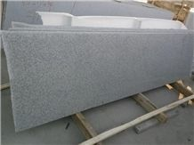 Polished G603 Light Grey Tile Cube Granite Slab
