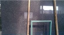 Steel Grey Granite Slabs & Tiles, Iron Grey Granite, India Grey Granite