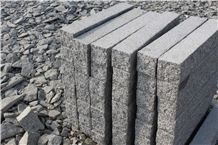 G341 Light Grey Granite Palisade for Garden