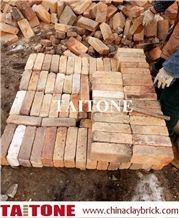 Reclaimed Bricks Slice, Bricks Verneers Fireclay, Refractory Bricks