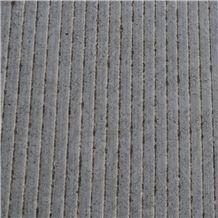Pierre St Marc Limestone Combed, Chiseled Tiles, Grey Limestone Tiles & Slabs