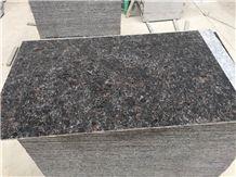 Xiamen China 6mm Super Thintan Brown Granite Slab Tile Cover Flooring Polished Honed Flamed Split Cross & Vein Cut Patterns