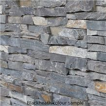 Deco Block, Grey Quartzite Wall Cladding Viet Nam, Stacked Stone Veneer