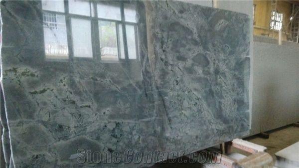 Atlantic Lava Stone Sky Blue Tile Slab From China