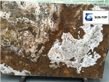 Canyon Onyx/Multicolor Brown Jade Big Slabs & Tiles & Gangsaw Slab & Strips (Small Slabs) & Customized & Wall/Floor Covering
