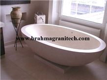 Bathtub from One Single Marble Block
