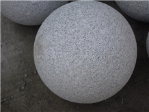 Grey Granite Ball for Parking Barriers, Winggreen