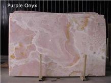 Purple Onyx Slabs & Tiles, Iran Lilac Onyx