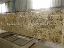 Arctic Cream Granite Kitchen Countertops