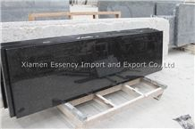Black Galaxy Granite Countertop, Black Granite Kitchen Countertop