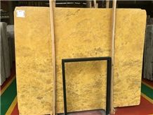 Golden Marble Slabs & Tiles, China Yellow Marble