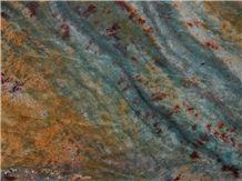 Acquarama Granite Slabs, New Blue Luise