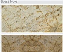 Bossa Nova Granite Slabs & Tiles, Beige Polished Granite Floor Tiles, Wall Tiles