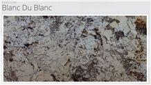 Exotic Line - Blanc Du Blanc Granite Slabs