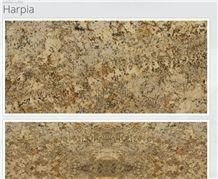Harpia Granite Slabs & Tiles, Beige Polished Granite Floor Tiles