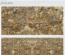 Jaracatia Granite Slabs & Tiles, Yellow Polished Granite Floor Tiles
