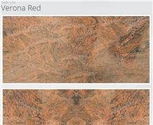 Verona Red Granite Slabs, Red Verona Polished Granite Tiles & Slabs, Floor Tiles, Wall Tiles