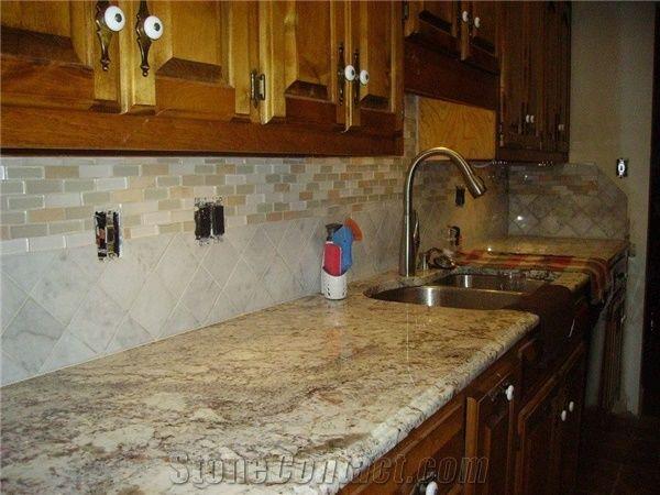Sienna Bordeaux Granite Kitchen Countertop Beige Granite