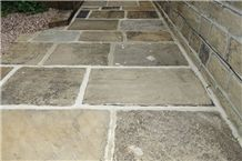 Reclaimed Yorkshire Paving, Second-Hand Riven Paving