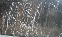 Black Nero Assoluto Maguina Marble Slabs & Tiles, Marble Floor/Wall Covering Tiles