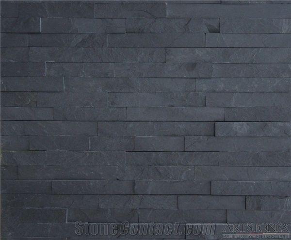 Black Basalt Graphite Facade Stone From