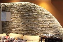 Gneis Silber, Gneiss Gloria Silver Wall Cladding Stone