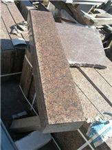 Red Granite Kerbstones, Rosso Carpazi Granite Kerbstones, Curbstones