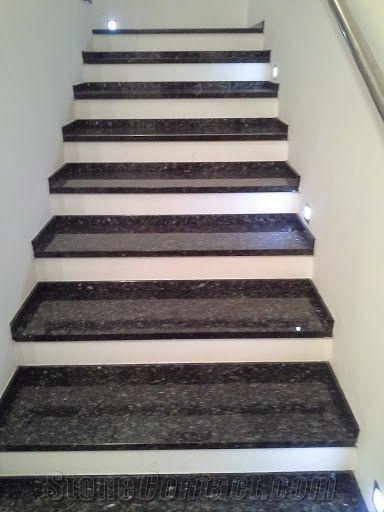 Beauty Black Granite Steps From Slovakia Stonecontact Com