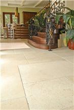 Jerusalem Royal Cream Limestone Floor Tiles