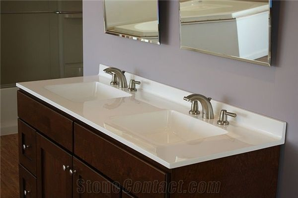 Artificial Stone Bathroom Vanity Tops
