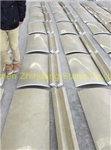 Beige Marble Column Polished