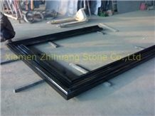 Polished Shanxi Black Granite Window Sills