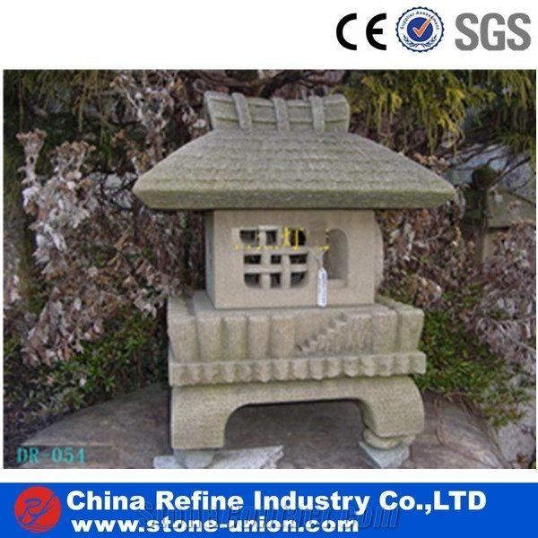 Antique Japanese Stone Lantern,Garden Outdoor Granite Lantern