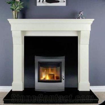 Black Granite Stone Fireplace Hearth, Black Granite Tile Fireplace Surround
