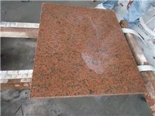 G3315 Tiles & Slabs,First Class Red Granite,First Class Red Of Siqian,Siqian Poinsettia,Siqian Poinsettia Red,Siqian Yipin Hong,Siqian Yipinhong Cut to Size Polished